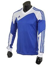 Adidas Youth Climacool Soccer Toque 13 Jersey L/S Blue Shirts Junior Team Z20275