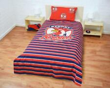 Official NRL Sydney Roosters Double-Sided Quilt Cover Set