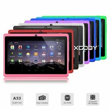 XGODY T73Q 7 Inch Quad Core 1.3Ghz Android 4.4 8G WiFi Bluetooth Mic Tablet PC
