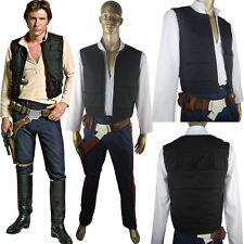Star Wars ANH Han Solo Vest Belt Holster Halloween Cosplay Costume Adults Kids