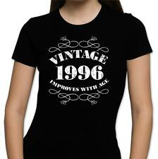 GIFT BOXED Vintage 1995 21st Birthday Present Gift Retro Old Fun Womens T Shirt