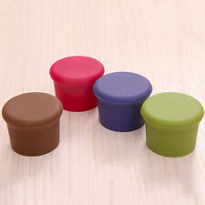 1/2/5pcs Wine Beer Plug Cap Bottle Stopper Gadget Bottle Cork Silicone Seal JA