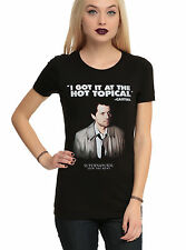 """SUPERNATURAL CASTIEL: """"I GOT IT AT THE HOT TOPICAL"""" JUNIORS FITTED T-SHIRT"""