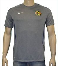 NIKE CLUB AMERICA TRAINING JERSEY MEXICO GRAY.
