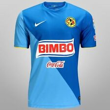 NIKE CLUB AMERICA 3RD THIRD JERSEY 2014 MEXICO COAST/BLUE SPARK.