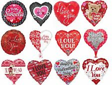 """Valentines Day I Love You Birthday Party Decoration Assorted 18"""" Foil Balloon"""