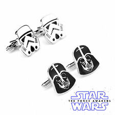 Hot Star Wars Men Stainless Steel Cufflinks Wedding Groom Shirt Cuff Links Gift