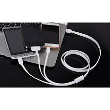 3 in 1 USB Sync Data Charging Cable for iPhone 4S 5S 6S Plus for Android Charger