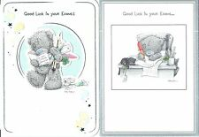 Good Luck in Your Exams card ~ Tatty Teddy ~ choice of 2 designs