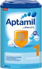 Aptamil - Baby food formula = PRE, 1, 2, 3, 1+ and 2+ * Direct from Germany