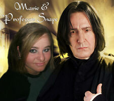 Your picture on a custom T shirt with Professor Snape! Alan Rickman Harry Potter