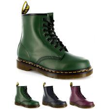 Womens Dr. Martens 1460Z 8 Eyelet Smooth Leather Oxford Combat Army Boot US 5-10