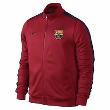 NIKE FC BARCELONA AUTHENTIC N98 TRACK JACKET RED/BLUE