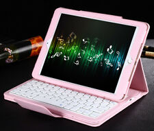 """12.9"""" Detachable PU Leather Bluetooth 3.0 Keyboard Case Cover Stand for iPad Pro"""