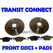 Ford Transit Connect 2002 onwards Front Brake Discs and Pads