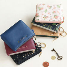 ICONIC - Pochette Coin Wallet - Cute Mini Sized Zipper Coin Purse + Key Ring