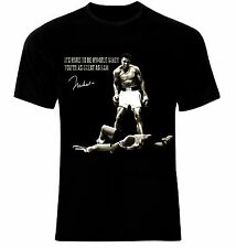Muhammad Ali It's Hard to be Humble T-Shirt Neu 100% Cotton S/M/L/XL/2XL