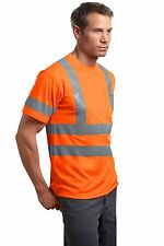 ANSI Class 3 -1 Short Sleeve Snag Resistant Reflective Shirt Road Crew Truck Tow