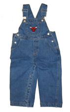 NWT Reebok Chicago Bulls NBA Infant/Toddler Denim Jeans Bib Overalls 12M-4T
