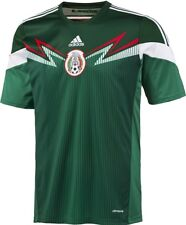 ADIDAS MEXICO HOME JERSEY FIFA WORLD CUP BRAZIL 2014.