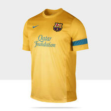 NIKE FC BARCELONA TRAINING TOP University Gold/Dynamic Blue