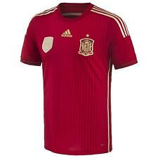 ADIDAS SPAIN AUTHENTIC ADIZERO HOME PLAYERS JERSEY FIFA WORLD CUP BRAZIL 2014