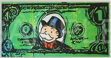 $1 Bill [50x100] ALEC Monopoly Modern Graffiti street urban art Giclee canvas