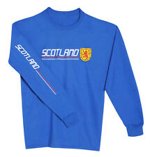 Scotland National Pride Long Sleeve T-Shirt - Olympics World Cup Team Gear