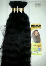 100% HUMAN HAIR SUPER FRENCH BULK/WET& WAVY/TANGLE FREE/JANET COLLECTION