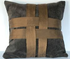 velvet and silk pleated decorative pillows for sofa or couch