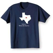 Home Is Where The Heart Is T-Shirt - Texas