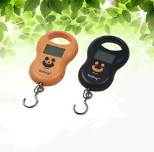 50kg/10g LCD Electronic Digital Fish Hanging Portable Travel Luggage Scale