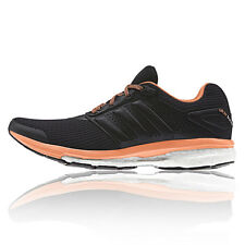 adidas Supernova Glide 7 Womens Black Sneakers Road Running Sports Shoes New