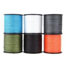 500M 30LB 0.26mm Fishing Line Strong PE Braided 4 Strands DL Z0R3