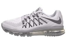 NIKE WOMENS AIR MAX 2015 PURE PLATINUM RUNNING SHOES 698903 010 SIZE 7.5, 8.5