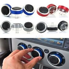 3PC Aluminum Alloy Car Air Conditioner Control Knobs Panel Switch for Ford Focus