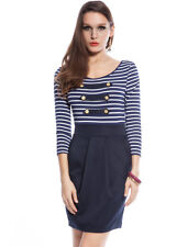 Ladies Sexy Bodycon Party Dress Cocktail Fashion Tunic Top Dresses Size 10 12 14