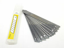 Craft Knife Blades 10 pack Snap Off 9mm Fits Olfa Irwin Stanley Draper