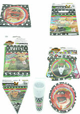 MUPPETS - PARTY PACK TABLE WEAR CUPS, PLATE, NAPKINS, BUNTING, BANNER, INVITES