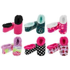 Womens Ladies Adult Snoozies Bright Range Small Medium Large Novelty Slippers