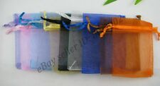 10/50 Pcs Sheer Organza Wedding Party Favor Decoration Gift Candy Pouch Bags