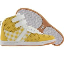 $110 Creative Recreation Womens Dicoco (yellow / gingham / white / patent) WCR