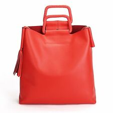 Vintage Real Leather Handbags Cool Tote Shoulder Bags For Weekend Shopping