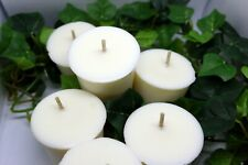 Hand Poured Soy Wax Votive Candles 6pk 15 hr burn time Fragrance oils