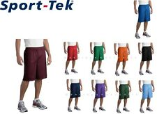 XS - 4XL Sport-Tek® PosiCharge Extra Long Mesh Short  ST515 Running Sports