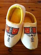 Dutch Clog Slippers / Hollanse slippers Yellow Farmer & FREE GIFT # WINTER SALE