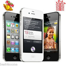Apple iPhone 4S 16GB Factory Unlocked Black and White Smartphone A1387 Free Gift