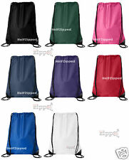 25 Liberty Bags Value Drawstring Nylon Backpack 8886 14x18 School Bag WHOLESALE