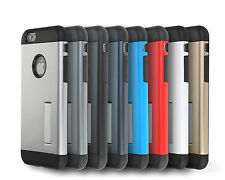 Hybrid Pound Dual Layer Kickstand Case Cover for Apple iPhone 4 4S 5 5S SE 6 +