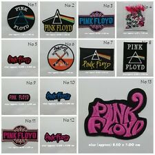 Pink Floyd Sew Iron On Patch Embroidered Rock Band Heavy Metal Music Logo Shirt